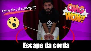 Mágica Com Corda - Rafael Titonelly - Mágica Online