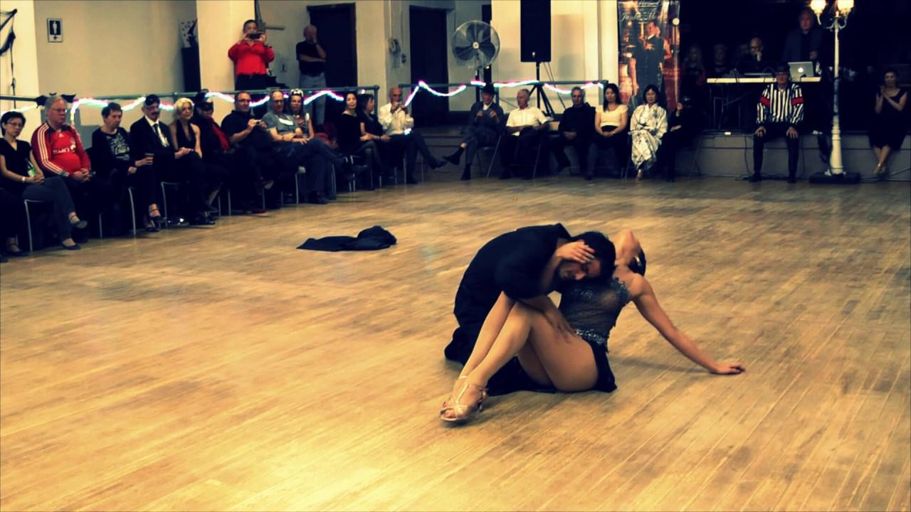 Paula & Lucas Tango dancing - YouTube