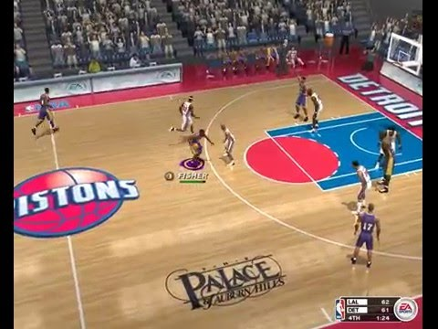 Detroit Pistons - LA Lakers. NBA 2003