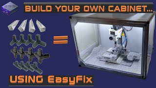 Making an EasyFix Cabinet for a CNC converted Milling Machine
