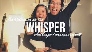 Whisper Challenge (+ big announcement!)