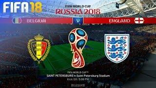 FIFA 18 World Cup - Belgium vs. England @ Saint Petersburg Stadium