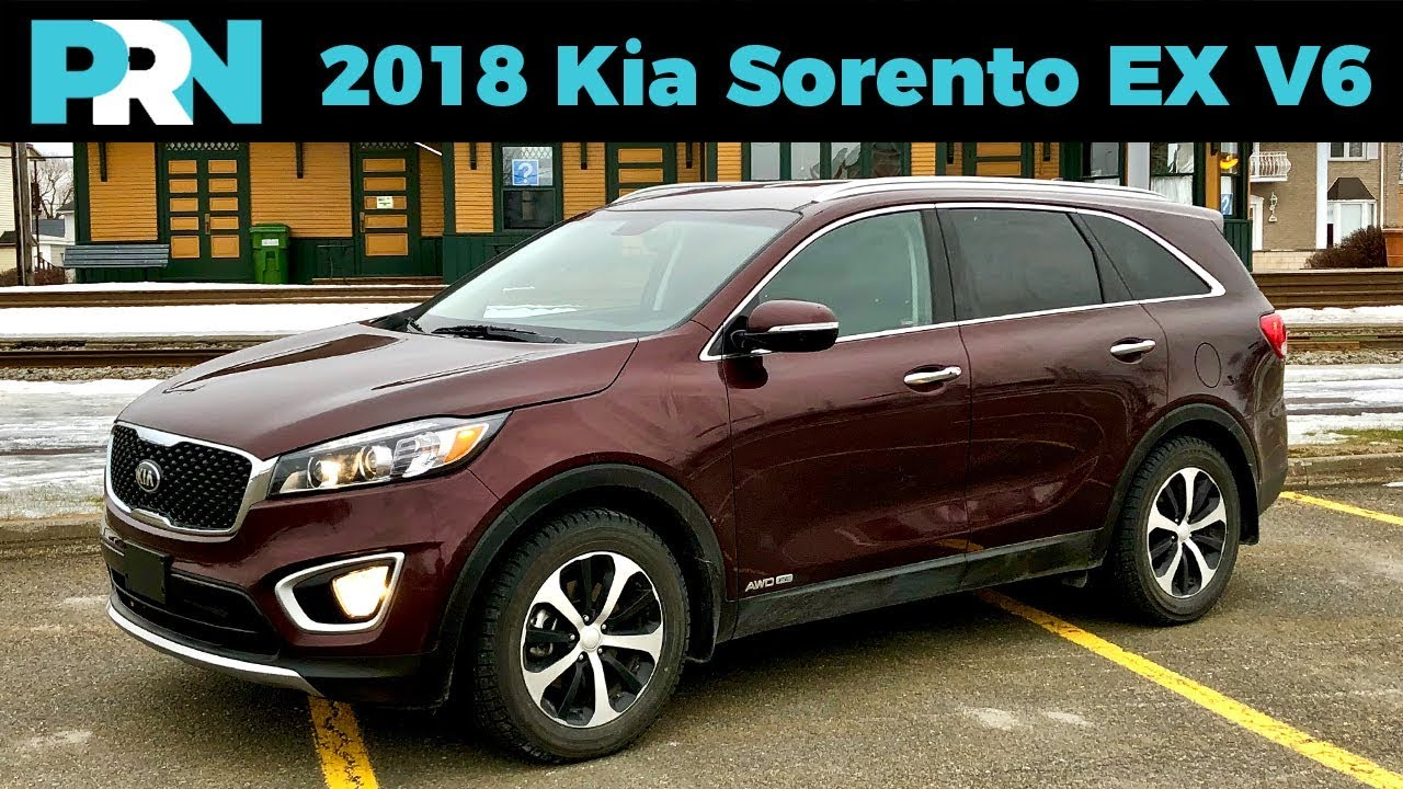 Still A Good Buy 2018 Kia Sorento Ex V6 Full Tour Review Youtube