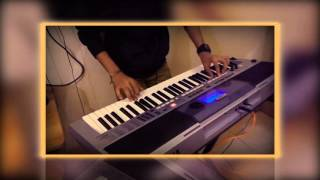 teri yaad yaad yaad-Instrumental On Keyboard (Bewafaa)