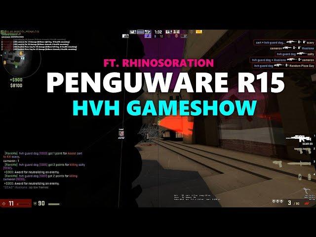csgo hvh - gameshow (ft. rhinosoration)