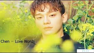 Download [Easy Lyrics] Chen - Love words by Z Lee Mp3
