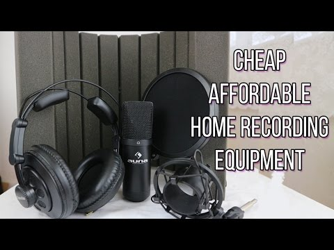 Affordable recording equipment 2017