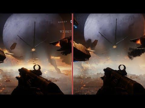 Destiny 2 Beta Graphics Comparison: Xbox One vs PS4