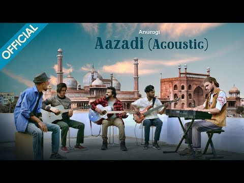 Anuragi – Aazadi (Acoustic) | Official 4K Video | Tribute to Shaheed Bhagat Singh