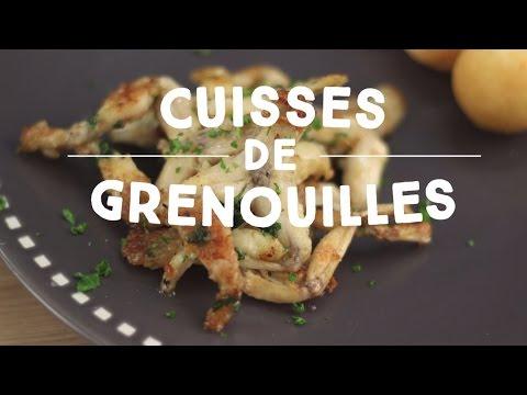 cuisses-de-grenouilles-au-beurre-d'ail---cuisineaz