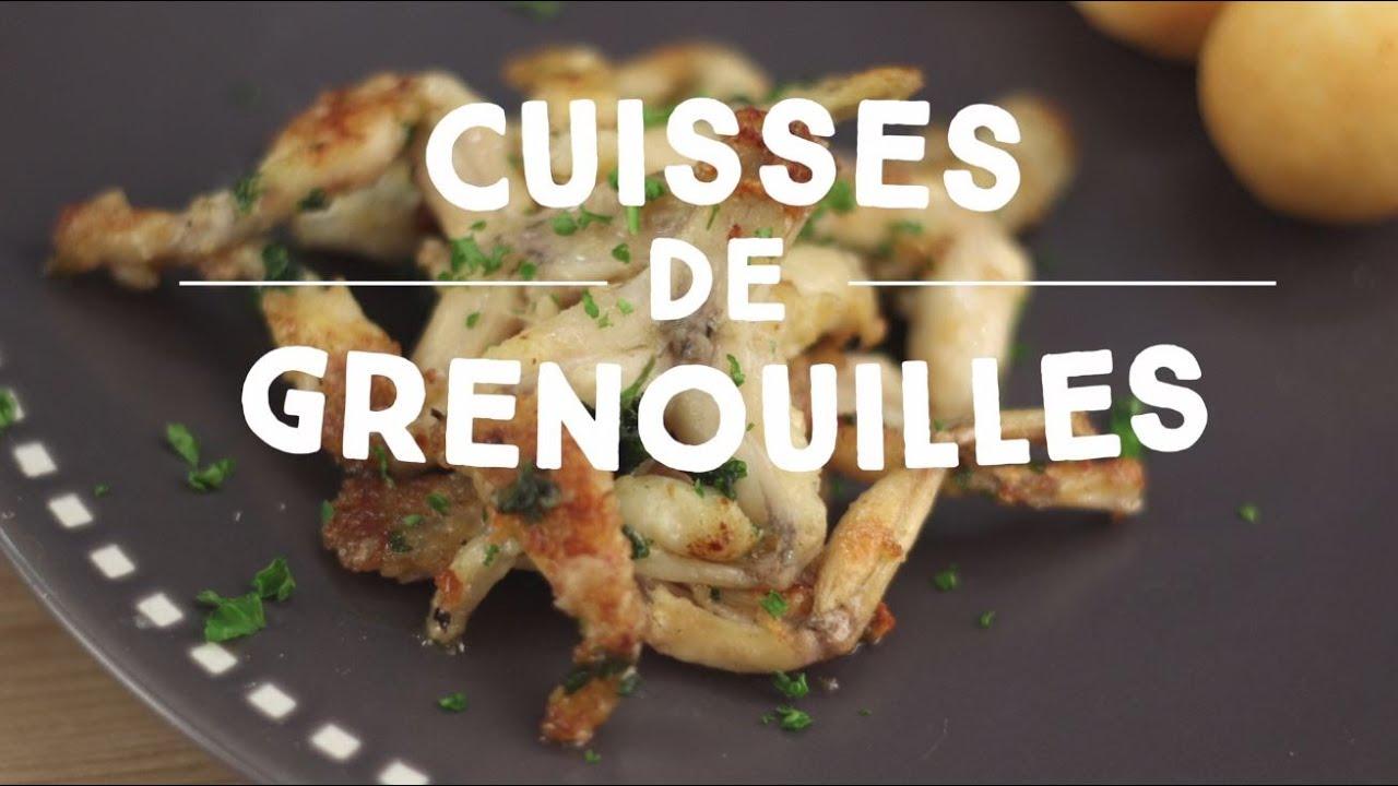 Cuisses de grenouilles au beurre d 39 ail cuisineaz youtube - Cuisiner cuisses de grenouilles surgelees ...