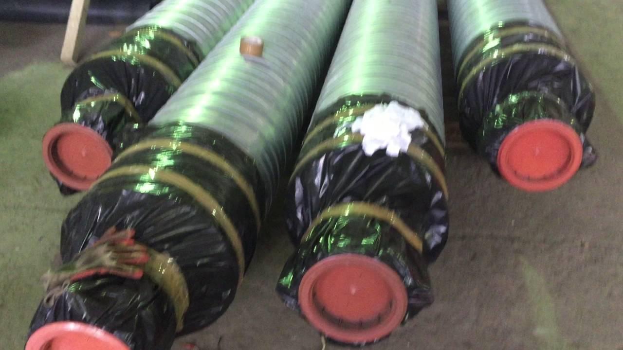 Производство стеклопластиковой трубы в пенополиуретановой (ППУ .