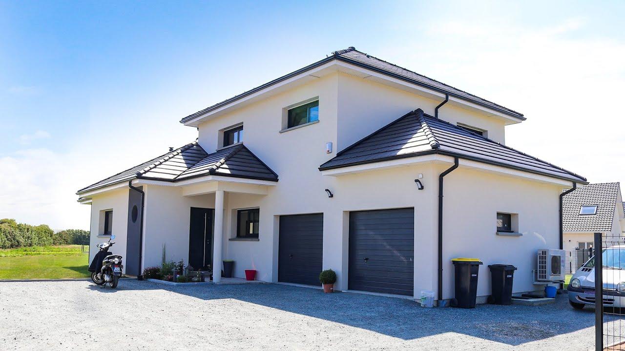 Reportage Clients - Maisons EXTRACO - Maison moderne avec suite parentale  et salon d\'étage