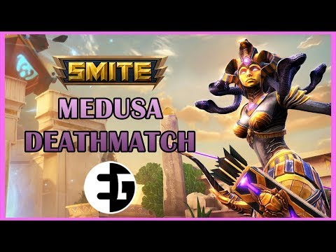 Medusa's Deathmatch (3v3v3) First Look with Montage - SMITE Adventures