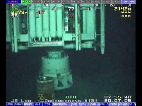 Subsea BOP Landing
