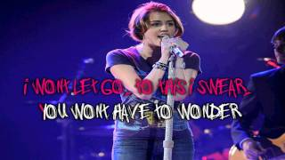 Miley Cyrus Scars Karaoke (HD)
