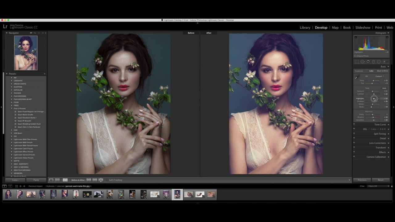 Free Wedding Lightroom Preset to Download