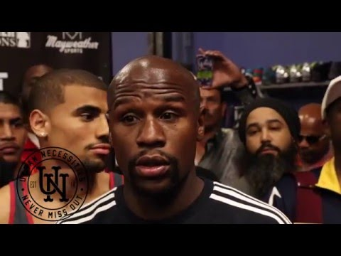 Mayweather Interview at the UN; Talks UFC , Being a mentor & More