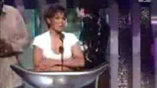 Michael and Janet Accepting Award For Scream In 1995