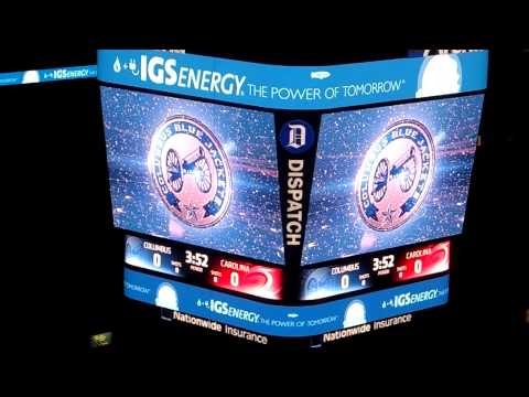 Columbus Blue Jackets vs. Los Angeles Kings Introduction and ...