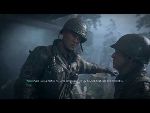 Call of Duty: WWII - Hill 493:  Joseph Turner Punches  William Pierson