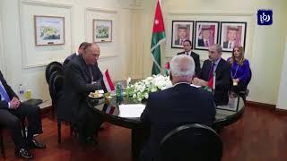 اجتماع أردني مصري فلسطيني لدعم القضية الفلسطينية - (19-8-2017)