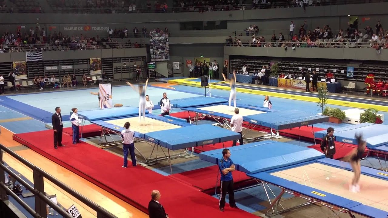 finale trampoline synchronis toulouse 2013 youtube. Black Bedroom Furniture Sets. Home Design Ideas