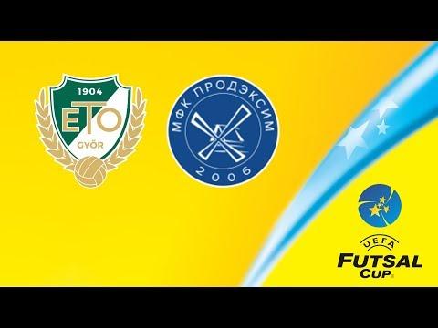 Győr - Futsal P. Kherson | UEFA Futsal Cup | Live Stream