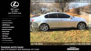 Used 2007 Lexus GS 450h | Sunrise Auto Sales, Rosedale, NY