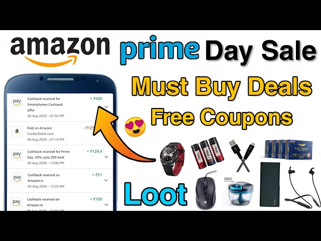 Amazon Prime Day Sale Coupons, ₹600 Cashback On Pantry & Free Recharge Offers 😍 | Amazon Prime Day