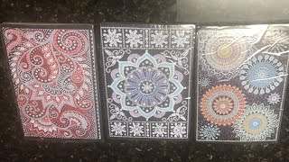 Diamond painting haul - Notebooks