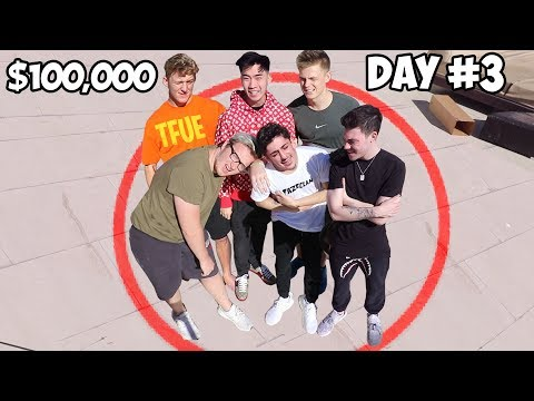 Last Youtuber To Leave Circle Wins $100,000 - Challenge
