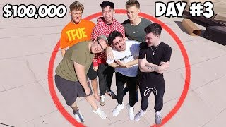 Last Youtuber To Leave Wins $100,000 - Challenge Video
