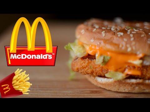 McDonald's McSpicy Paneer Burger Recipe |  मेकडोनेल की तरह पनीर  बरगर घर पर बनाए