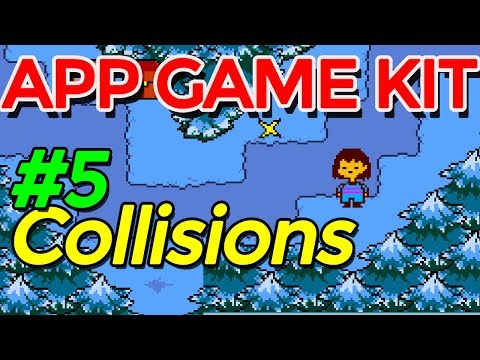Pixel Art Top Down RPG movement: Game Development Series by sparckman App Game Kit (Undertale)# 5