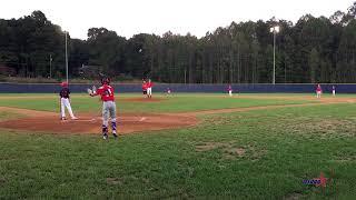 Gavin Pitching 1st Inning vs Stars Baseball (Ludington)