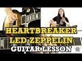 How To Play Heartbreaker by Led Zeppelin (main riff)