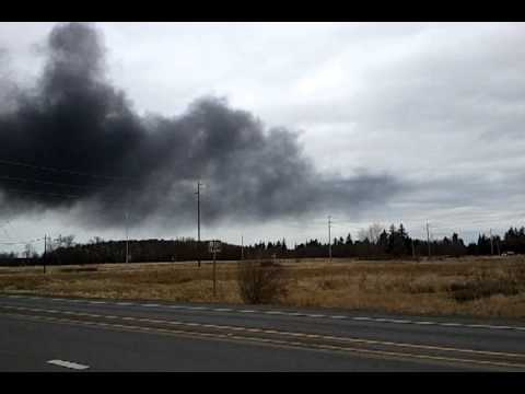 BP Cherry Point (Bellingham / Ferndale) Fire Feb 17 2012