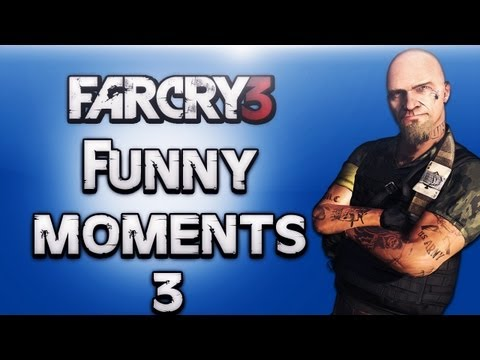 Far Cry 3 Funny Moments Ep.3 (Road Kill, Hunting, Animal Attacks)