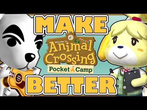 Make Animal Crossing: Pocket Camp Better   60+ Changes WE Want!