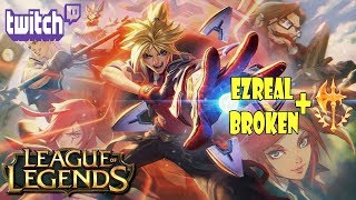 [League Of Legends] QUIERES SUBIR ELO DE ADC EN PRESEASON? EZREAL + CONQUEROR ES FREE ELO....