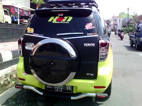 Modifikasi Daihatsu Terios Paling GILA ( FULL BODY MODIF ...