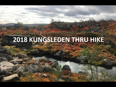 2018 Kungsleden Thru Hike