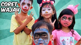 Seru Seruan Face Painting Yuk!! My Little Pony, Hello Kitty,...