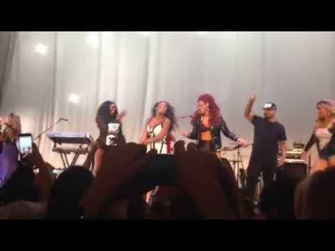 Somebody - Natalie La Rose - Beacon Theatre NYC (ft. Dinah, Normani, Ally, & Lauren) 8/27/15
