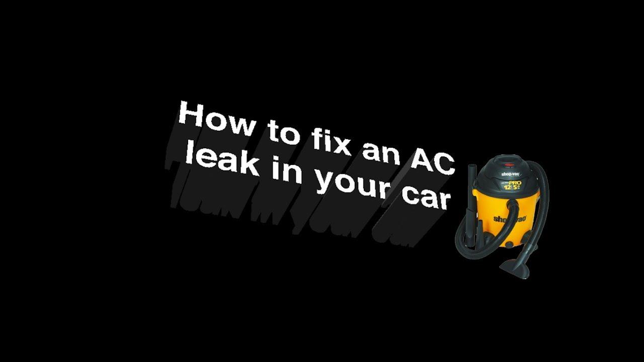 Subaru Outback Ac Drain Free Download 2001 Mitsubishi Galant How To Fix A Clogged Tube Leak Youtube