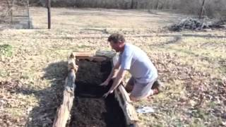 Cowboy Dan Builds A Raised Bed Garden