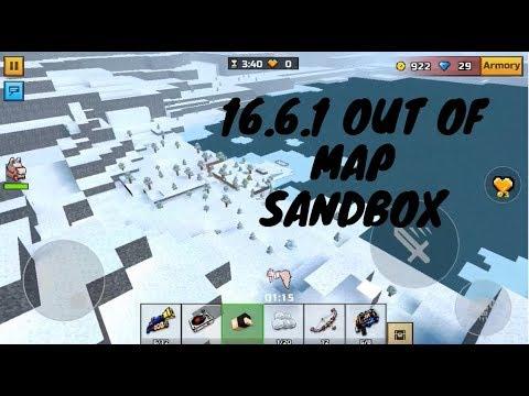 Pixel Gun 3d Sandbox Out Of Map 16.6.1