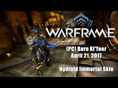 Warframe Hydroid Immortal Skin