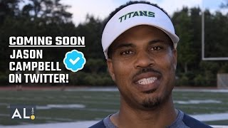 Jason Campbell talks about fake NFL comeback Twitter announcement